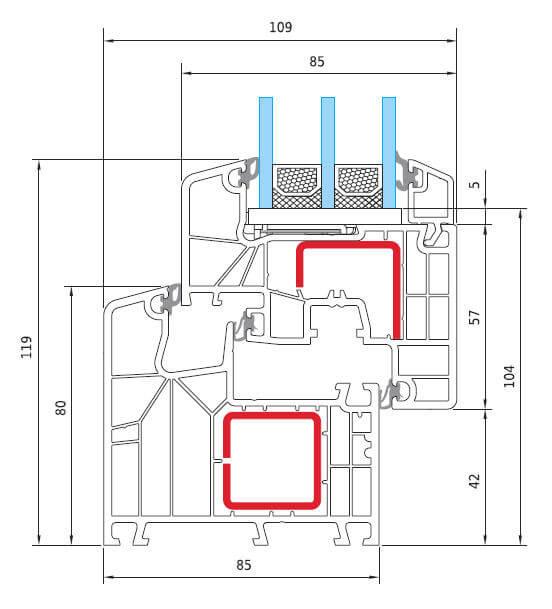 Γραμμικό Ideal 8000 Soft Line